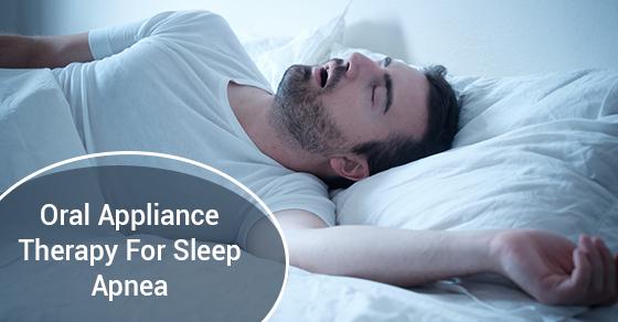 oral appliances for sleep apnea